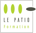 Le PATIO Formation Sticky Logo